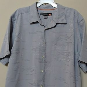 Men's short sleeve button up shirt